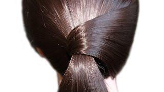 Простая и очень красивая прическа на каждый день★прически на средние волосы