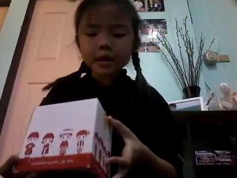 น้องแบมแบม แกะกล่องพัสดุ #1
