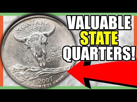 RARE ERROR QUARTERS WORTH MONEY - STATE QUARTERS TO LOOK FOR IN YOUR POCKET CHANGE!!