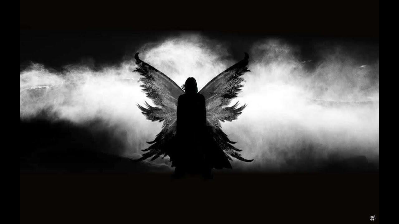 Картинки ангела с крыльями во тьме, картинки