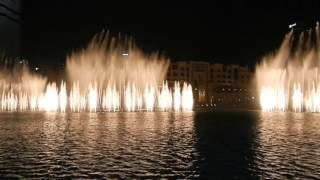 The Dubai Fountain - Arabic song