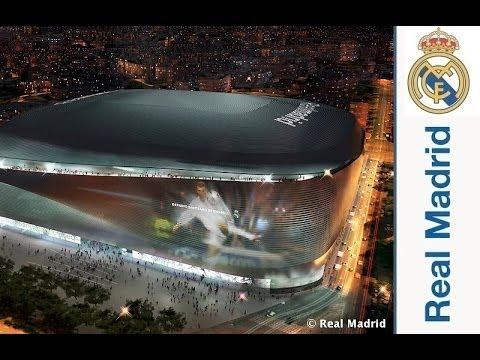 Realmadrid Life The New Santiago Bernabeu Stadium Unveiled Youtube