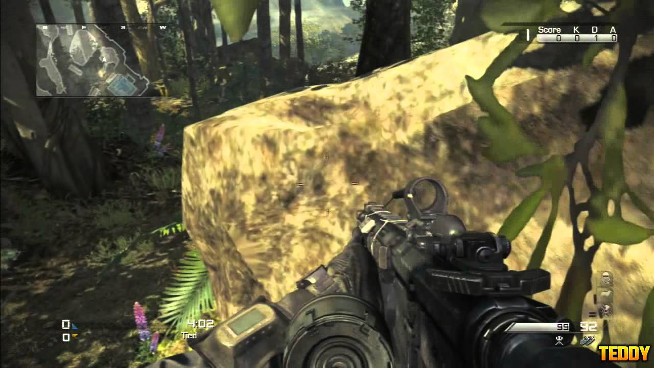 Cod Ghosts Ledge Glitch On The Map Prison Break Call Of Duty