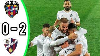 Уэска Леванте 2 0 Обзор Матча Чемпионата Испании 02 04 2021 HD
