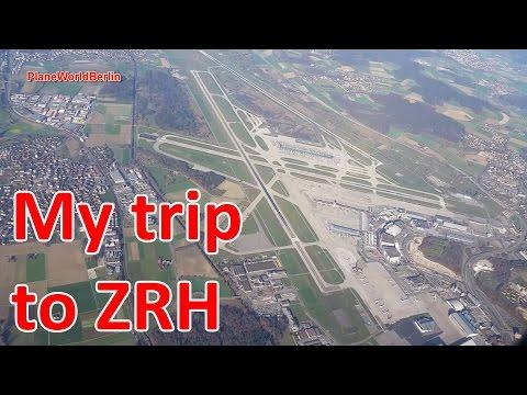 My short trip to Zurich Airport - a music video