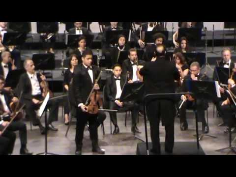 P.I. Tchaikovsky Violin Concerto in D Major, OP. 35, 2nd&3rd Mov, Abada Ahmed