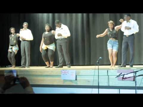 2013 International Night @ Potomac Senior High School - African Dancers (C.I.A Nation)