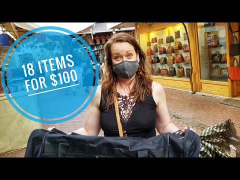 18 Items for $100. Shopping in Fethiye, Turkey #turkey #travel #fethiye