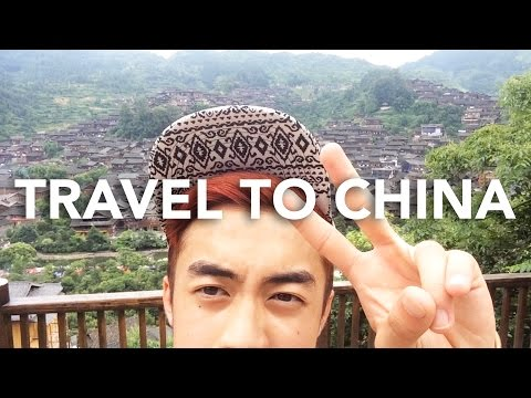 TRAVEL TO CHINA - Miao Ethnic Villages (Hmoob Suav), Waterfalls, & Mountains