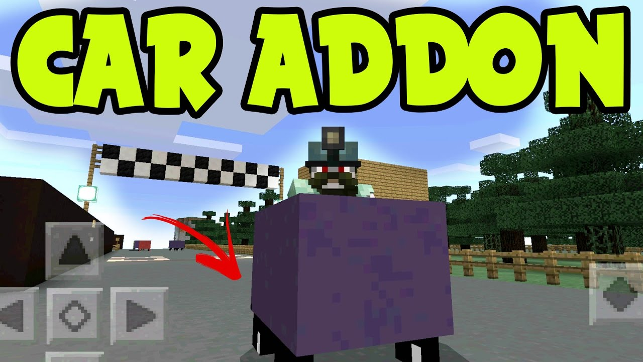 Download MCPE ADDON - WORKING CAR ADDON and BEHAVIOR PACK! // 0.16.0 UPDATE - Minecraft PE (Pocket Edition)