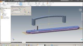 Пример простой сборки в Autodesk Inventor