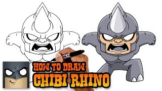 How to Draw Rhino | Marvel Comics