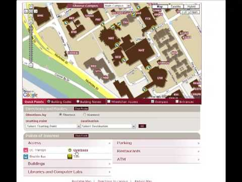 Umpi Campus Map.Veriday Google Campus Map Development Youtube