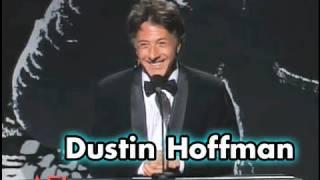 "Dustin Hoffman Tells Jack Nicholson To ""Be Drunken"""