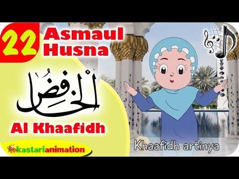 Asmaul Husna 22 - Al Khaafidh bersama Diva | Kastari Animation Official