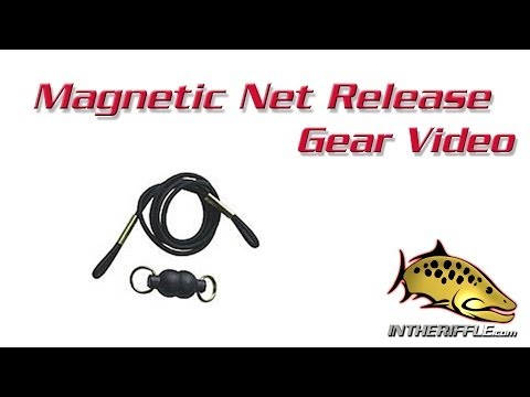 Magnetic Net Release Holder Retractor Fly Fishing