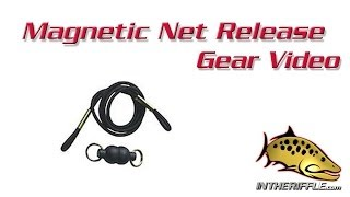 Magnetic Net Release Holder Retractor Fly Fishing