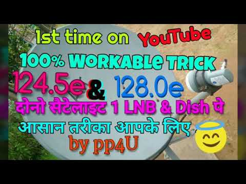 New Free 106+ channels on 2ft ku band Dish...Full setting
