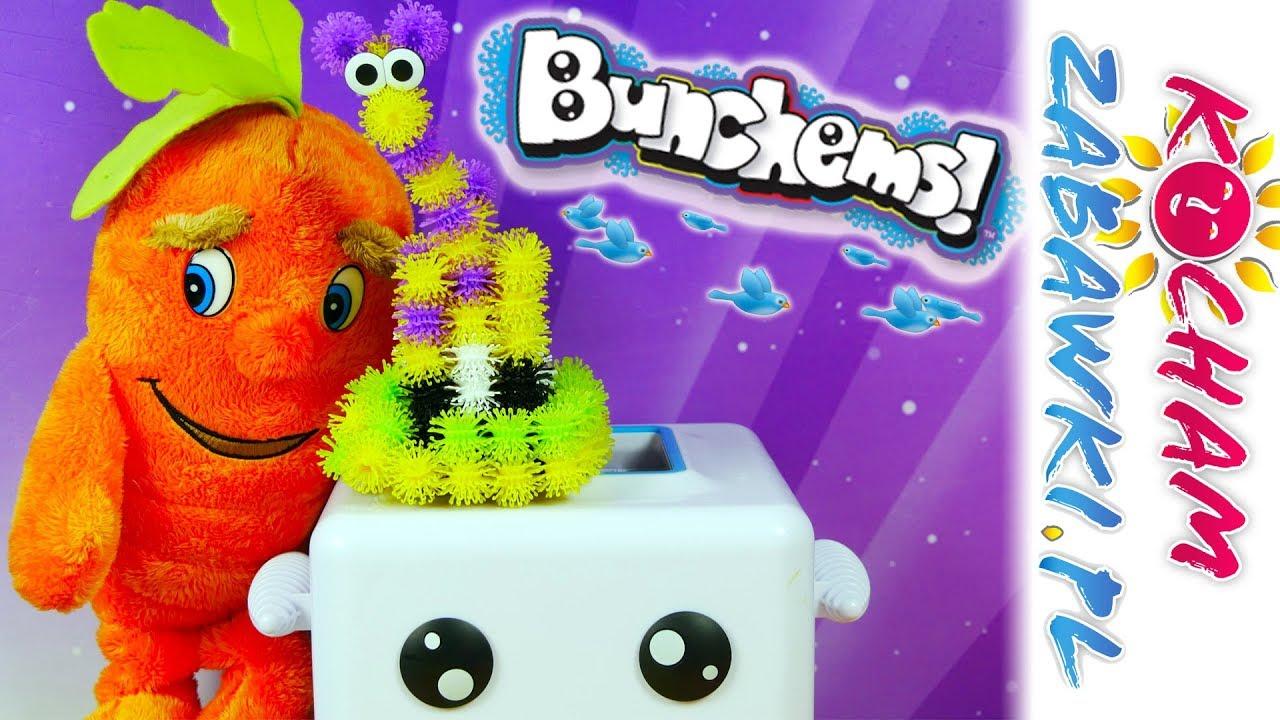 Lidlaki • Jak zrobić żyrafkę 3D • Bunchems Sprytna maszynka Bunchbot • Kreatywne zabawki