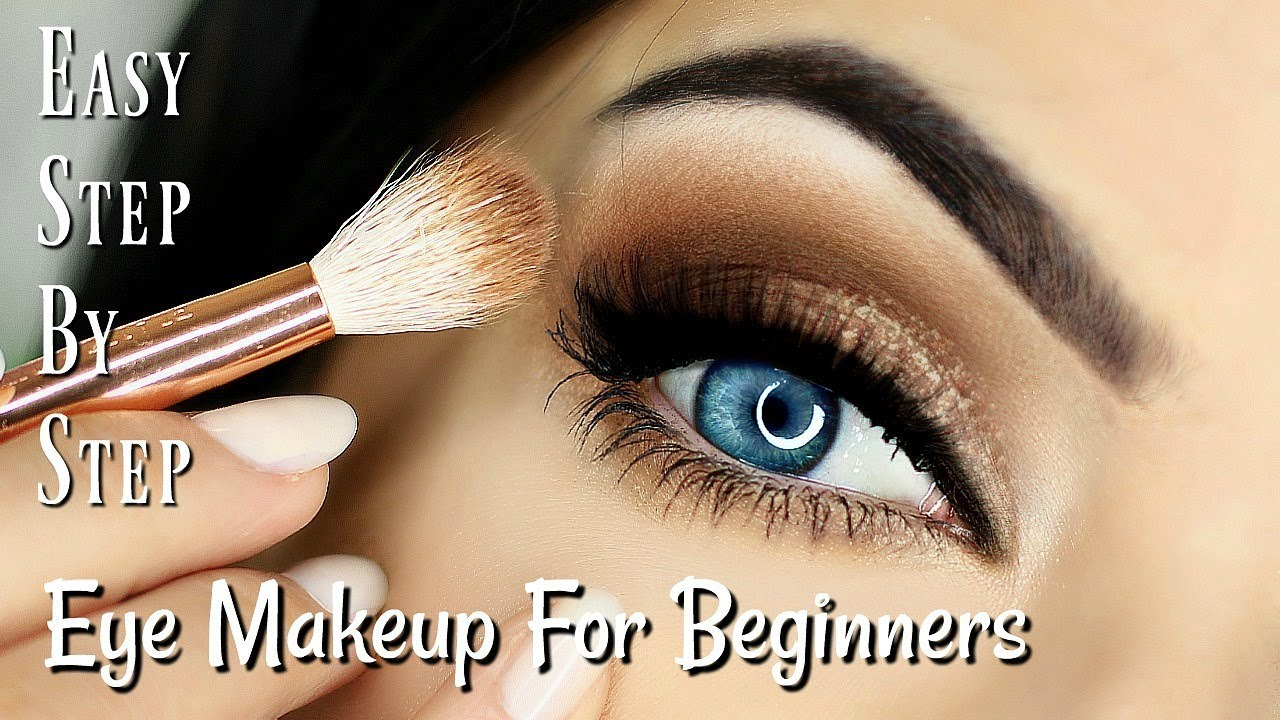 beginner eye makeup tips & tricks | step by step eye makeup for blue eye