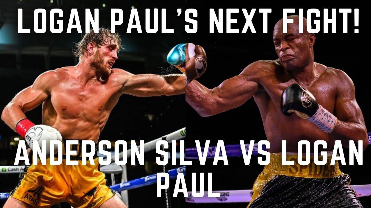 Logan Paul's Next Boxing Match!   Logan Paul vs Anderson Silva Fight Breakdown!