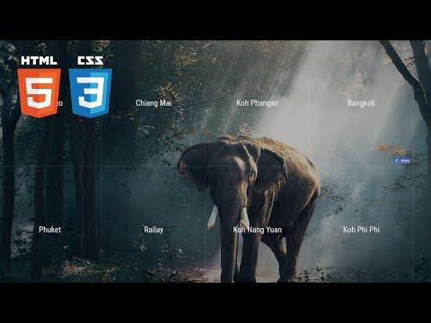 프론트엔드 퍼블리싱, 프론트엔드 개발 취업하기, CSS 강좌 (풀스크린 반응형 그리드 랜딩페이지 - CSS position, float, before, 미디어쿼리)