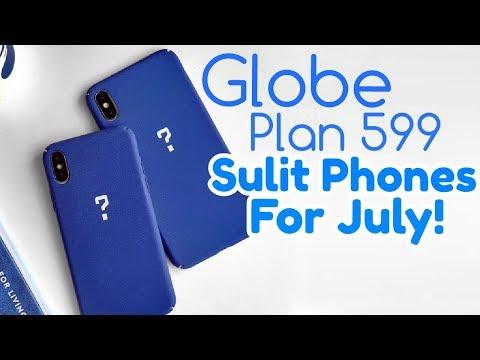 Globe Plan 599 Best Free Phone for July | No Cashout ThePlan Data Postpaid | Sulit Promo
