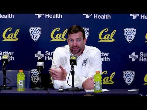 Cal Football Washington State Post Game - HC Justin Wilcox 11/9/19