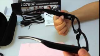 hd720p spy hidden camera glasses eyewear video recorder digital dvr camcorder