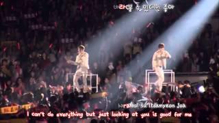 DBSK 동방신기 duo - Dream 꿈 CATCH ME in Seoul [eng + rom + hangul + karaoke sub]