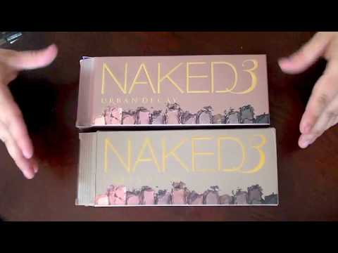 Urban Decay Naked3 Palette Real VS. Fake!
