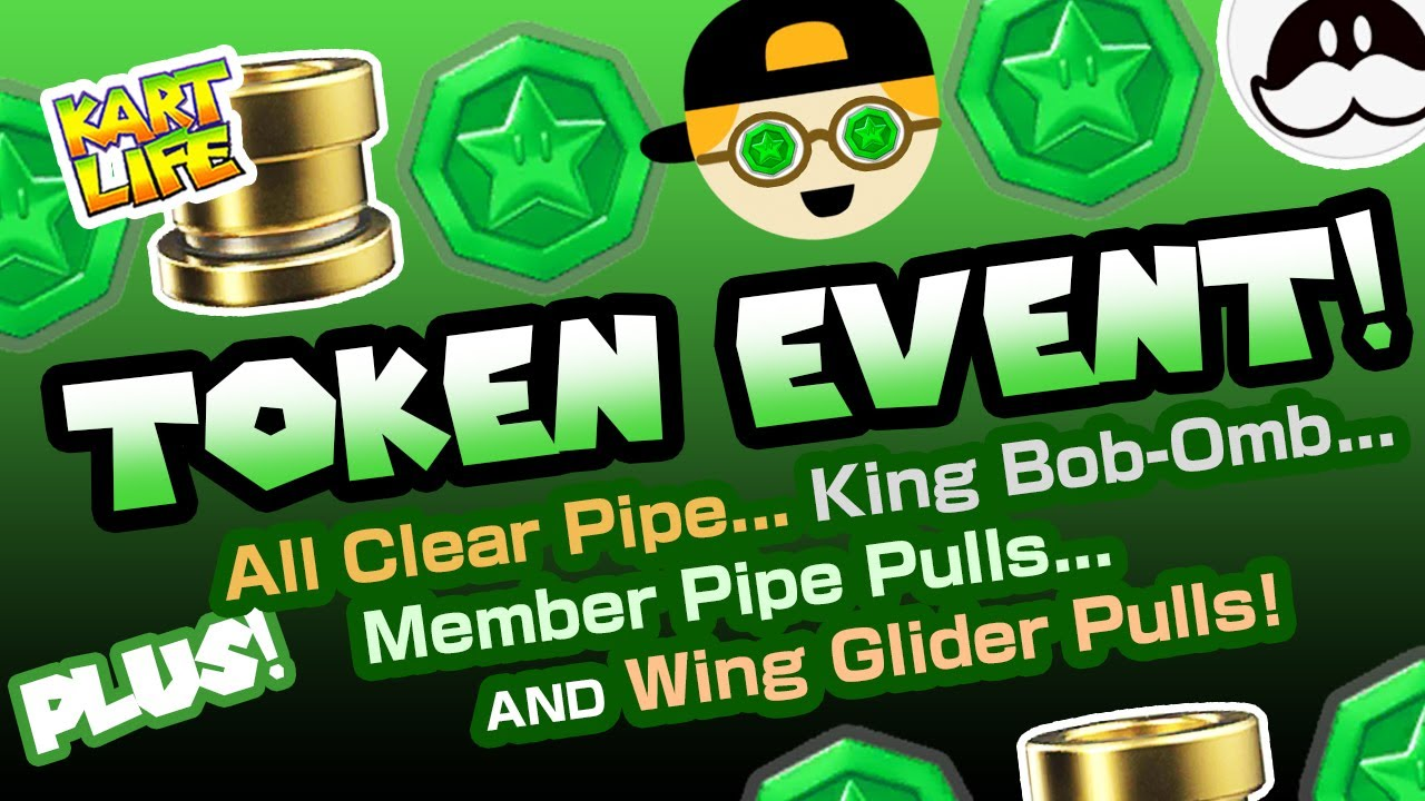 Mario Kart Tour TOKEN EVENT Reaction! PLUS: Pipe Pulls, King Bob-omb and More!