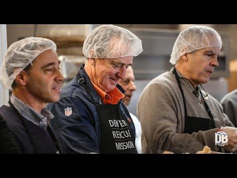 BTV: Joe Ellis joins local presidents to serve lunch at Denver Rescue Mission