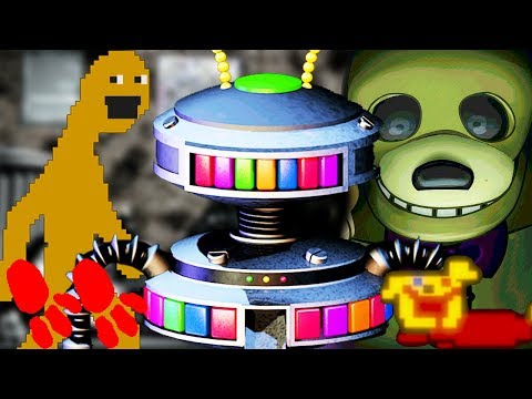 Five Nights at Freddy's 6 Minigames & Secrets EXPLAINED