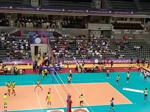 Sports Qatar HE Emir cup volleyball final at Alsadd stadium May 2016 Part 6