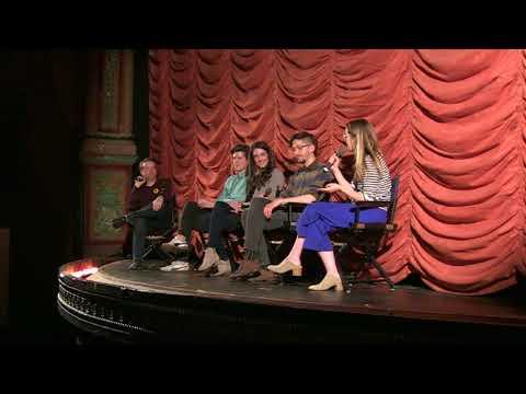 CCFF 2018   Clare Cooney, Shane Simmons, Anna Margaret Hollyman, Tony Grayson Q&A for SHORTS PROGRAM