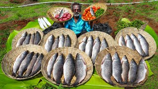 Underground BANANA Leaf FISH Recipe by Daddy Arumugam / Village food factory