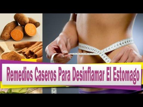 Remedios Caseros Para Desinflamar El Estomago - YouTube