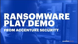 How Accenture's MDR Stops Ransomware - Watch the Demo