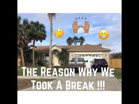 The reason why we took a break!!! (House Tour)