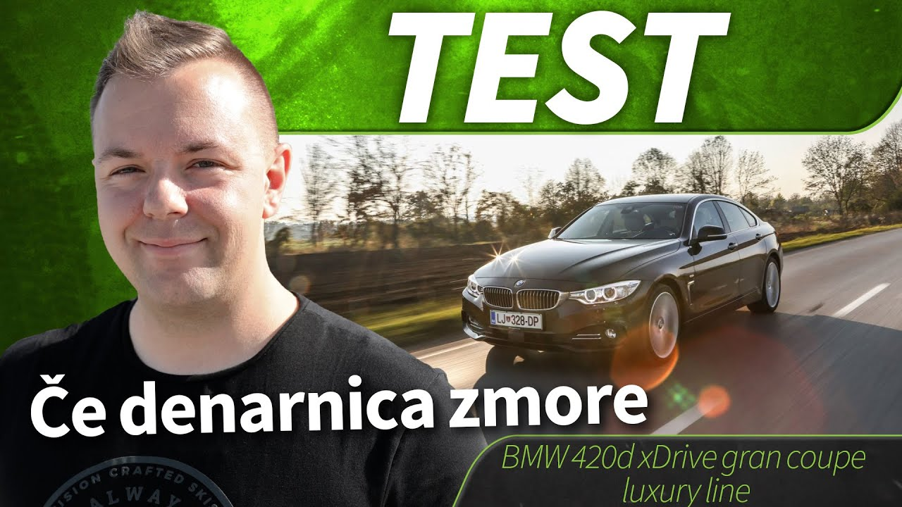 2015 bmw 420d gran coup xdrive luxury test youtube