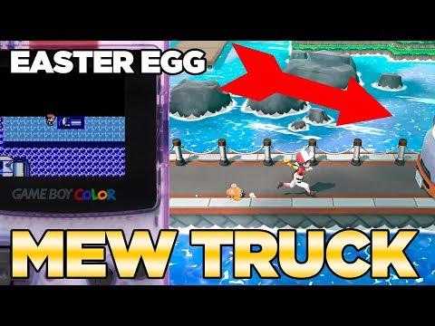 Mew Truck Easter Egg in Pokemon Let's Go Pikachu & Eevee