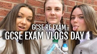 FIRST GCSE EXAM VLOG 2019! GCSE RS!