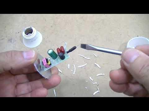 Como Consertar Lâmpada De Led Ourolux Passo A Passo