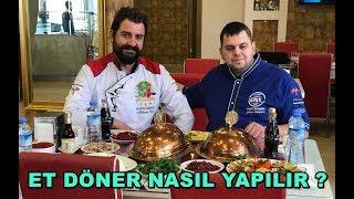 Et Döner Nasıl Yapılır w / Ravza Kebap Mehmet Usta