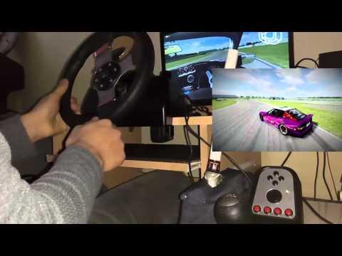 LFS - Rockingham Drift Logitech g27+handbrake