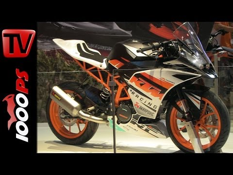 KTM RC390 Akrapovic 2014 Details&Information @EICMA 2013