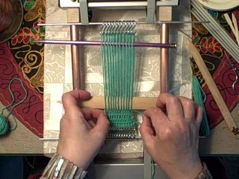 Leno lace on the Mirrix loom by Noreen Crone Findlay c