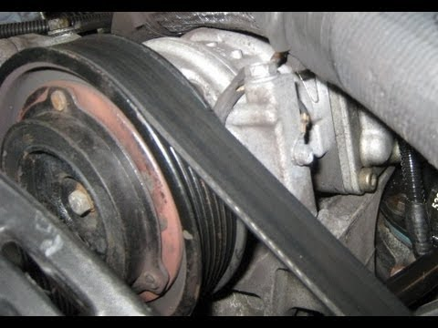 9404 Jeep AC Compressor Replacement  YouTube