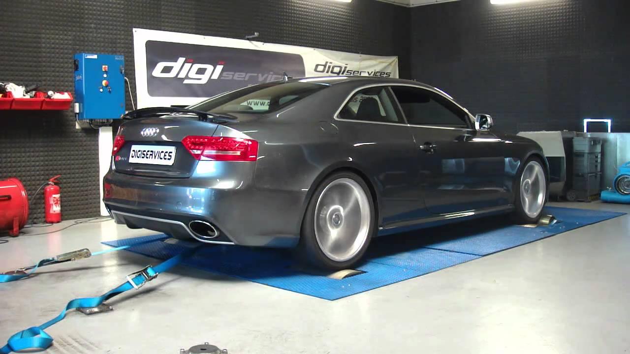 Digiservices Audi Rs5 V8 450cv Banc De Puissance